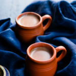 chai in clay cups