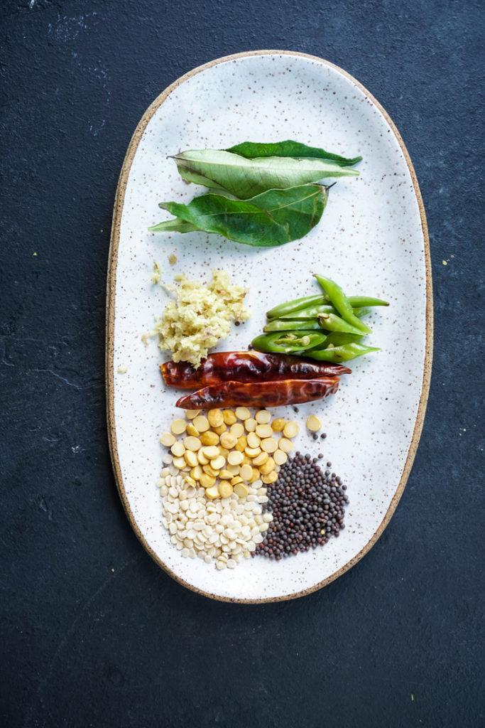 seasonings for curd rice